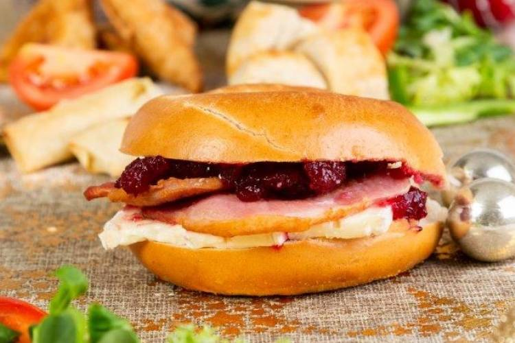 Brie Bacon & Cranberry