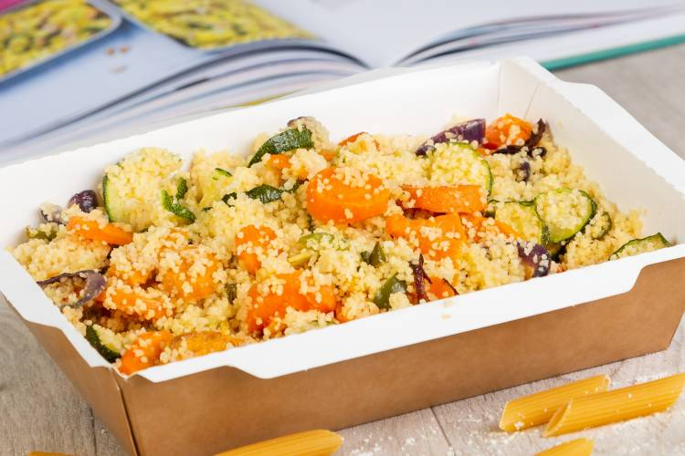 Couscous & Roasted Veg