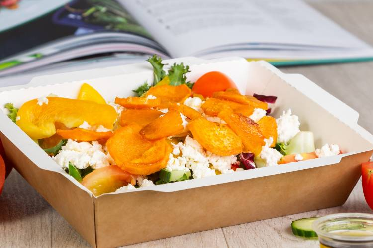 Sweet Potato & Feta