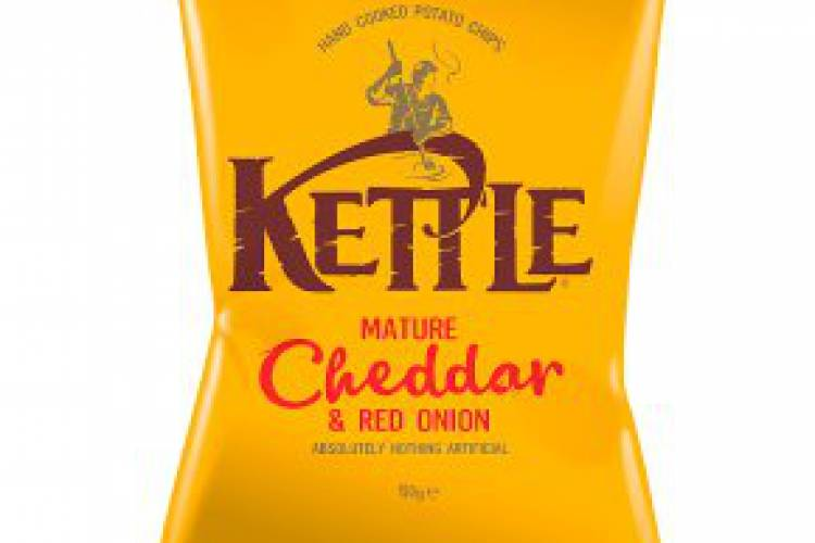 Kettle Cheddar & Red Onion